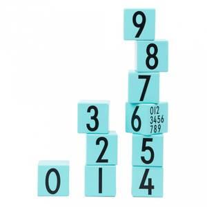 Bilde av Treklosser - Design Letters 123 (Turquoise)