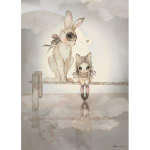 Bilde av Poster - Mrs Mighetto Hello Miss Julia (50x70)