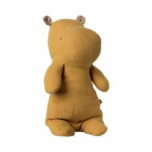 Bilde av Bamse - Maileg Safari Friends, Medium Hippo (Dusty Yellow)