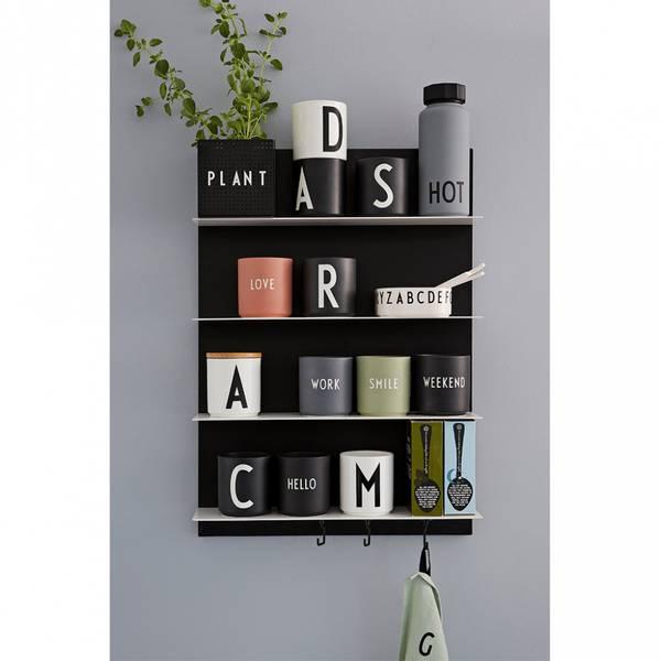 Hylle - Design Letters Black A2