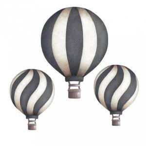 Bilde av Wallsticker - Stickstay Balloons (Dark Blue Vintage)