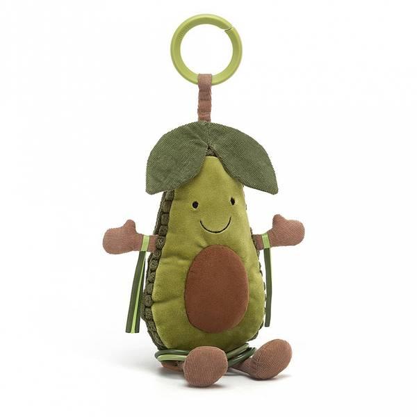 Aktivitetsleke - Jellycat Avocado 25 Cm