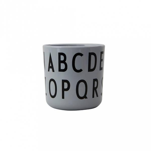 Kopp - Design Letters Eat & Learn ABC (Melamin, Grey)