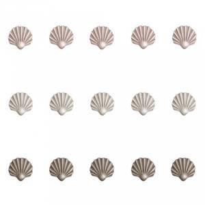 Bilde av Wallsticker - Stickstay Shells 15 Stk (Beige, Pink, Brown)