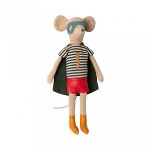 Bilde av Bamse - Maileg Super Hero Mouse, Medium Boy
