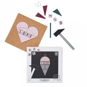 Bilde av Byggesett - Design Letters Ice Cream