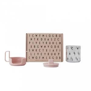 Bilde av Sett Med Kopp - Design Letters Grow With Your Glass (Nude)