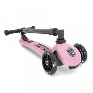 Bilde av Sparkesykkel - Scoot & Ride Highwaykick 3 LED (Rose)