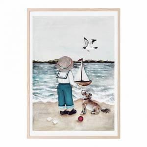 Bilde av Poster - That's Mine A Walk On The Beach (50x70 Cm)