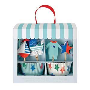 Bilde av Cupcake Kit - Meri Meri Babyshower (Blue)