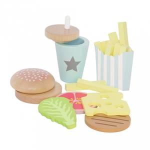 Bilde av Lekemat I Tre - Jabadabado Hamburger Meal