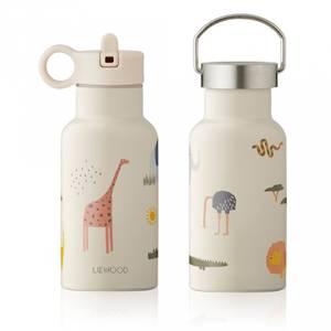 Bilde av Drikkeflaske - Liewood Anker Safari 350ml (Sandy Mix)