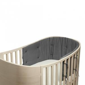 Bilde av Sengekant - Leander Classic Babyseng, Organic (Cool Grey)