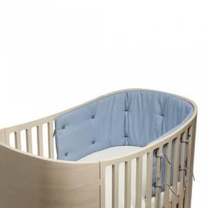 Bilde av Sengekant - Leander Classic Babyseng, Organic (Dusty Blue)