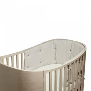 Bilde av Sengekant - Leander Classic Babyseng, Organic (Cappucino)