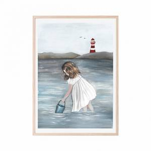 Bilde av Poster - That's Mine A Day At The Beach (30x40 Cm)