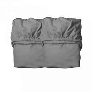 Bilde av Laken 2-Pk - Leander Babyseng, Organic (Cool Grey)
