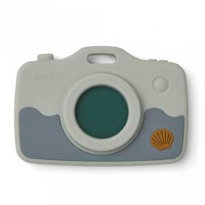 Bilde av Biteleke - Liewood Steven Camera Silikon (Sea Creature Blue Mix)