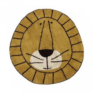 Bilde av Gulvteppe - Tapis Petit Rug Lion (100 Cm)