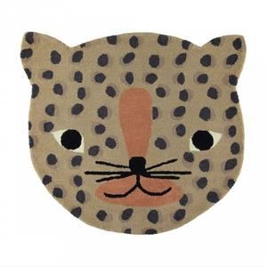 Bilde av Gulvteppe - OYOY Leopard (84x94 Cm)