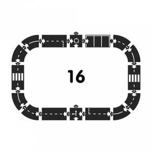 Bilde av Bilbane 16 Deler - Way To Play