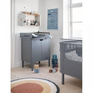 Bilde av Stellebord - Sebra Med Hyller (Classic Grey)