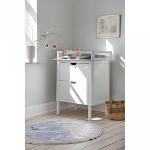 Bilde av Stellebord - Sebra Med Skuffer (Classic White)