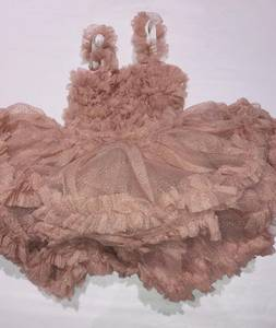 Bilde av Minimin Tyllkjole gammel rosa