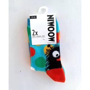 Bilde av Mummi STINKY sokker 2pk - turkis