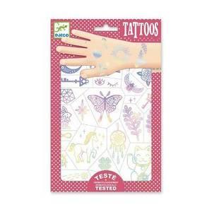 Bilde av Djeco tatoveringer - lucky charms