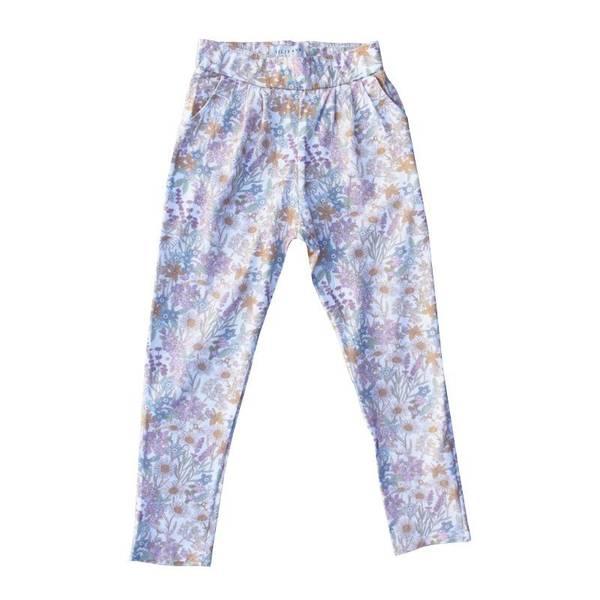 Vilje og Ve CLARA bukse - Hvit blomster