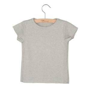 "Bilde av Little Hedonist ""Isabel"" summer shirt - Grey"