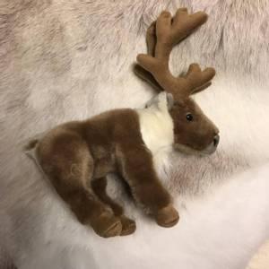 Bilde av Living Nature litet reinsdyr kosedyr