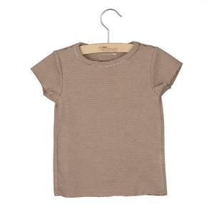"""Bilde av Little Hedonist """"Isabel"""" summer shirt - Brown"""