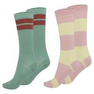 Bilde av Molo NORVINA sokker 2-pk - Pistachio