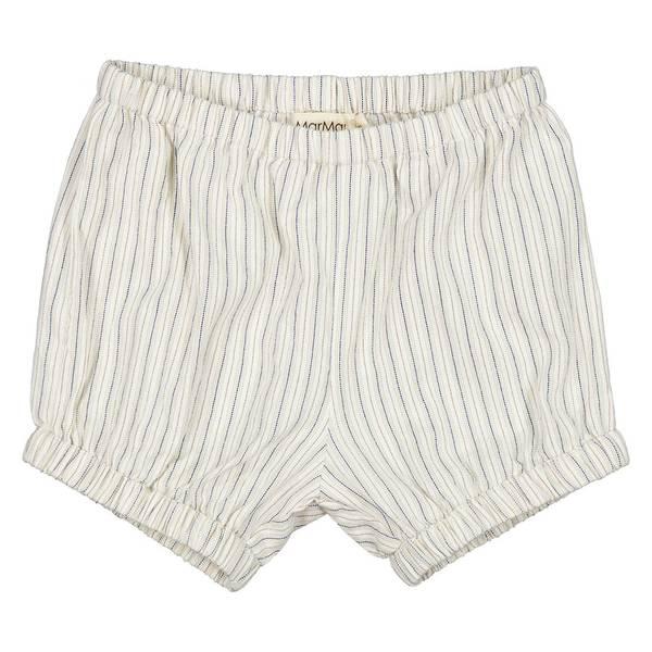 MarMar PACEY shorts - White Sage Stripes