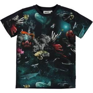 Bilde av Molo RISHI t-skjorte - Deep Sea