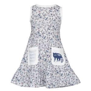 Bilde av Lilleba HEDDA kjole Blomstereng - rosa
