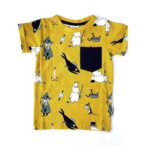 Bilde av Mummi PALS t-skjorte - Gul