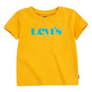 Bilde av Levis t-shirt - gul med turkis logo