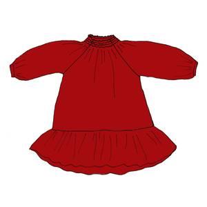 Bilde av Huttelihut NOVA kjole - Santa Red