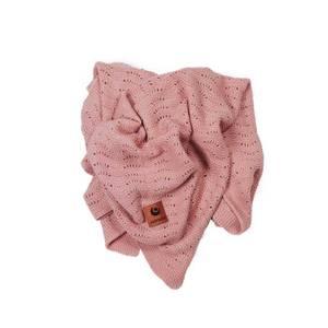 Bilde av Easygrow babypledd Grandma Wave - Warm Pink