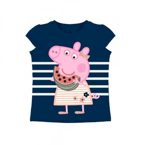 Bilde av Peppa Gris t-skjorte - Marineblå