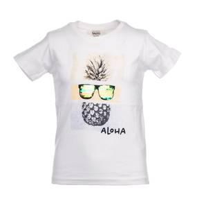 Bilde av Salto t-shirt sommer hvit