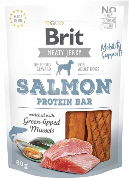 Bilde av Brit Salmon Protein Bar 80g