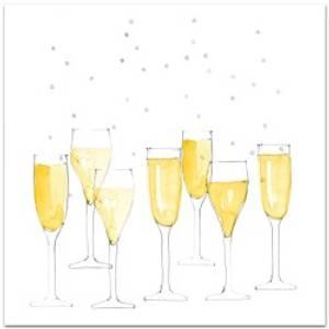 Bilde av Kort champagne