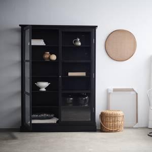 Bilde av Lindebjerg Design Vitrineskap Dark Oak  N2