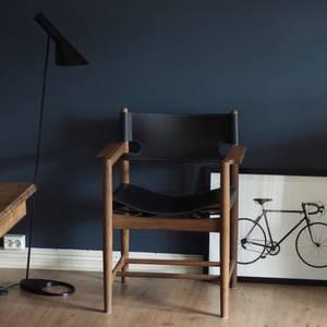 Bilde av Fredericia Spanish Chair 3238 Med Armlene Smoked/Sort