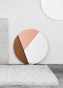 Bilde av Reflections Copenhagen Nouveau Speil Silver/Bronze/Rosegold