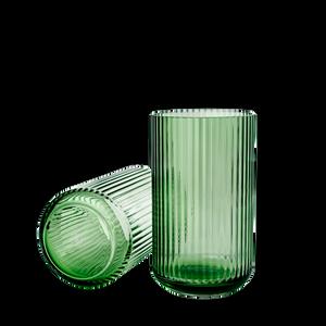 Bilde av Lyngby Vase Copenhagen Green Glass 25 cm